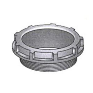 "OZ Gedney BB-150 Conduit Bushing, Insulating, 1-1/2"", Threaded, Thermoplastic"