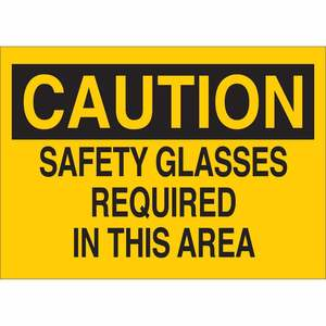 22595 EYE PROTECTION SIGN