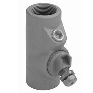 "Appleton EYDEF75AL Conduit Seal, 3/4"", Female/Female, Vertical (40% Fill), Aluminum"