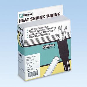"Panduit HSTT09-Q Heat Shrink, Thin-Wall, 3/32"", Black, 25' Reel"