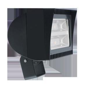 RAB FXLED105T Flood Light, LED, 1-Light, 105W, 120-277V, Bronze