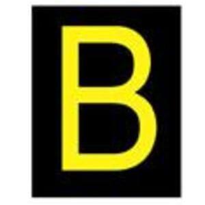 Brady 5000-B Reflective Letter, B