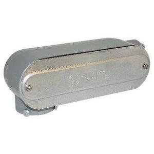 "Bizline BZLOLR5CG Conduit Body, Type: LR, 1-1/2"", Form 5, Aluminum"