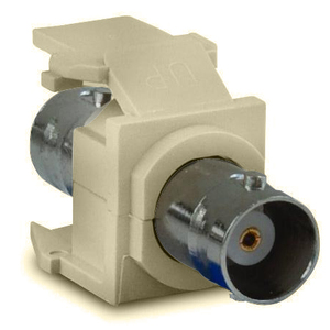 Leviton 41084-BIF Ivory Snap-In Adapter
