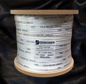 "A&G Manufacturing 34250 Pulling Tape, Measuring Tape, 3/4"" x 3000' Reel"