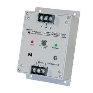 Time Mark C263 Power Monitor, 3-PH, 480VAC Input, 380-480VAC Range, 4.5W