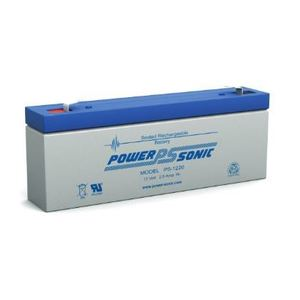 Power-Sonic PS-1220 Rechargeable Sealed Lead Acid Battery, 12V, 2.5Ah
