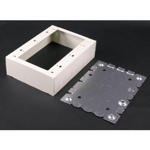 Wiremold 5748-3WH STL DEVICE BOX 3G WHITE
