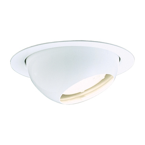 "Lightolier 1088GW 5"" Par30 Regressed Eyeball-gloss White Baffle Lytecaster"