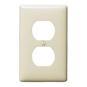 Hubbell-Wiring Kellems NP8AL WALLPLATE, 1-G, 1) DUP, AL