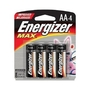 E91BP4 ENERGIZER AA ALK 1.5V CARD OF 4