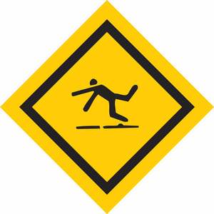 25168 FALL PROTECTION SIGN