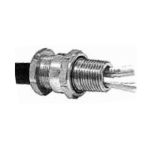 """Appleton TC050055 Tray Cable Connector, 1/2"""", Cable Range .26 to .41 Inch, Aluminum"""