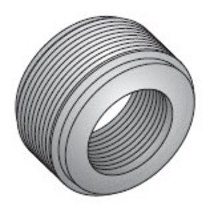 "Appleton RB-4 Reducing Bushing, Threaded, 1""x 3/4"", Steel"