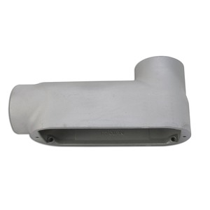 "Appleton LB250-A Conduit Body, Type: LB, Size: 2-1/2"", Form 85, Aluminum"