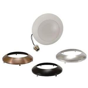 SYLVANIA LEDLD900930FL120 LED LightDisk, Recessed/Surface Mount Downlight Kit, 900 Lumens, 3000K, 120V