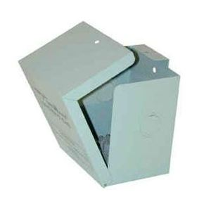 """Time Mark 98A498 Enclosure, Socket Mount Devices, NEMA 1, 5"""" H x 4.125"""" W x 3.5"""" D"""