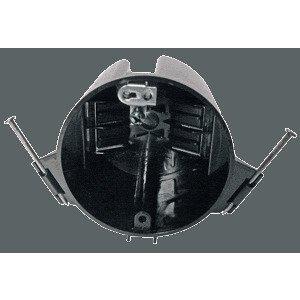 "Cantex EZ18CNG 3-1/2"" Round Ceiling Box, Nail-On, Depth: 2-1/2"", Non-Metallic"