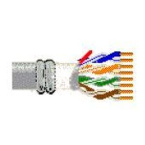 Belden 121872A-J22-1000 Cat 6 Cable, 23 AWG, 4 Twisted Pairs, Blue, PVC Jacket