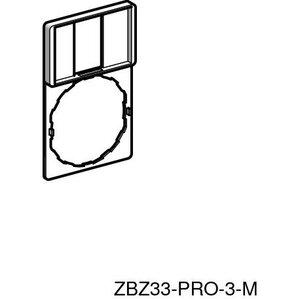 Square D ZBZ33 LEGEND PLATE