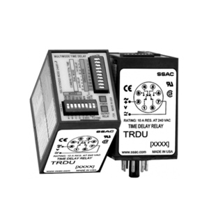 SSAC TRDU120A3 Time Delay Relay