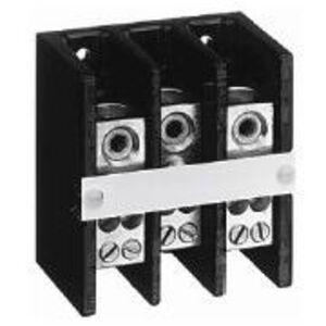 Allen-Bradley 1492-PD3C111 Distribution Block, 150A, 600V AC/DC, 3P, Copper, 3 In/3 Out