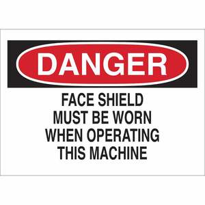 22975 PROTECTIVE WEAR SIGN