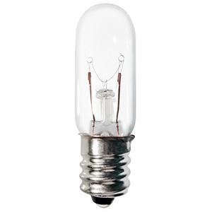 Candela 6T4-1/2/1-130V-I Miniature Lamp, 130 Volt, 6 Watt, Candelabra Screw Base