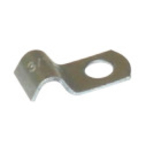 "Halex 26212 Strap, 1-Hole, Type: Midget, Size: 3/16"", Steel/Zinc"