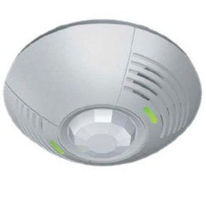 Lutron LOS-CDT-1000-WH Dual technology ceiling mount wired sensor; 180 degrees field of view covering 1000 sq. feet