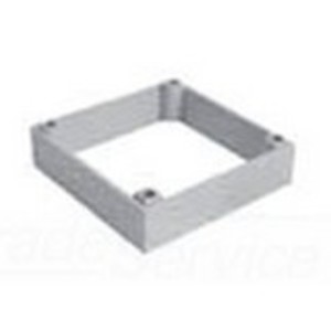 "Ipex SMBR Extension Ring, For Slab Box, Depth: 1"", PVC"
