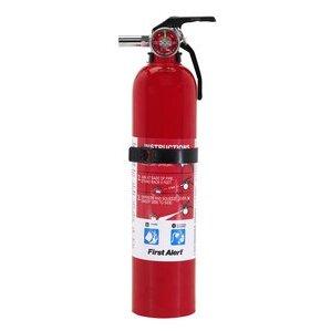 BRK-First Alert GARAGE10 Fire Extinguisher, Rechargeable