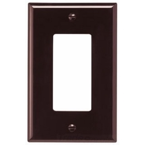Eaton Arrow Hart PJ26B Wallplate 1G Decorator Poly Mid BR