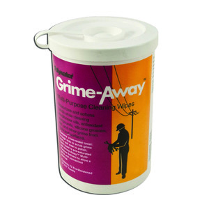 "American Polywater HTC-D72 Grime-Away™ Multi-Purpose Cleaning Wipes, 10"" x 12"" - 72 per Dispenser"