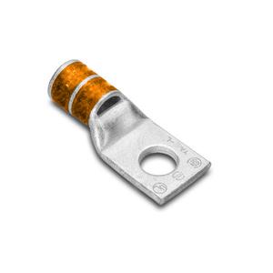 """Burndy YA27LBOX Compression Lug, Copper, 1 Hole 1/2"""", Standard Barrel, 3/0 AWG"""