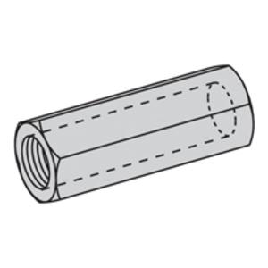 Eaton B-Line B655-1/2SS4 STEEL ROD COUPLING, 1/2-IN.-13, 1 3/4-IN. LENGTH, STAINLESS STEEL 304