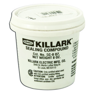 Hubbell-Killark SC-8-OZ Sealing Compound, 8 Ounce