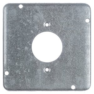"Steel City RSL-4 4-11/16"" Square Exposed Work Cover, (1) Twist Lock Receptacle"