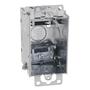 "Steel City LXOW-25 Switch Box, Gangable, 2-1/2"" Deep, AC/MC Clamps, Ears"