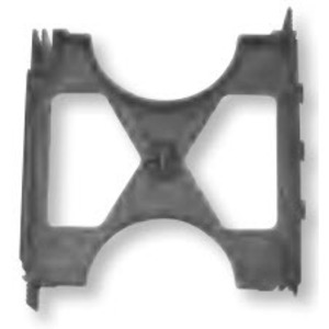 "Bizline 400X300INTSPR Intermediate Spacer, 4"" x 3"", Non-Metallic"