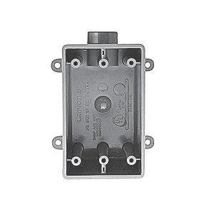 Carlon C9801DN CL C9801DN 1/2 FDE 1-GANG WP BOX 25