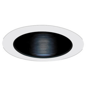 Elco Lighting ELM530W 5IN WHT MTL BAFL TRM