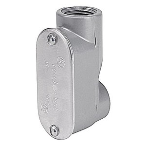"Red Dot ASLB-1 Conduit Body, Type: LB, Size: 1/2"", SLB Series, Aluminum"