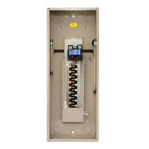 Eaton CHEC42B200L Load Center, Main Breaker, 200A, 120/240VAC, 1PH, 35kAIC, 42/42
