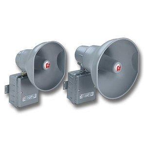 Federal Signal AM300GCX Public Address Hazardous Location Speaker, Transformer Coupled