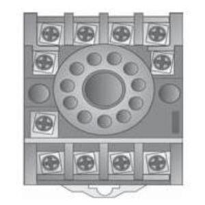 SSAC NDS-11 Socket, Magnal, 11 Pin, Pressure Terminals