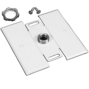 Wiremold G2051H STL FLUSH PLATE ADAPTER 2000 GRAY