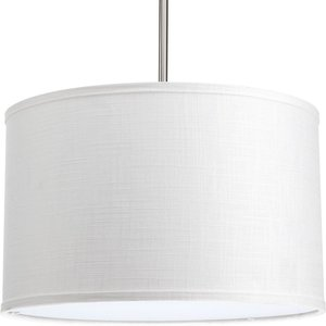 "Progress Lighting P8829-30 16"" drum shade modular pendant system"