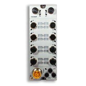 Allen-Bradley 1732E-16CFGM12R I/O Module, 16 Point, Selectable, 24VDC, Single D Code M12