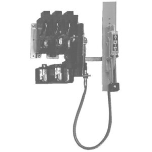 """Square D 9422CFT30 Disconnect Switch, Operating Mechanism, 36"""" Single Cable, Flange"""